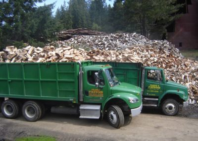 Photo of Frank Firewood Trucks