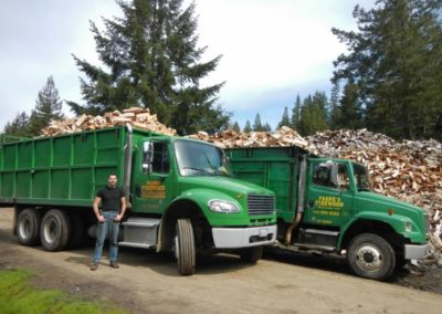 Photo of Neil Vaine - Franks Firewood Driver and trucks