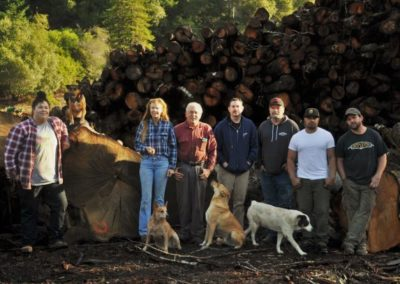 photo of Frank's Firewood Boonville team